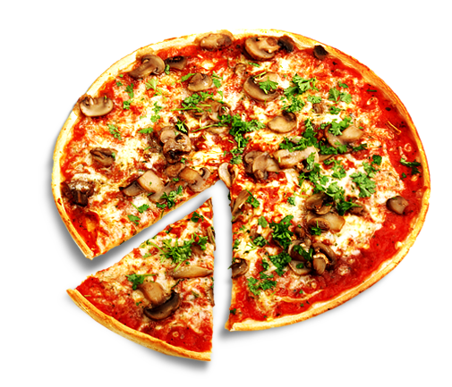 big pizza one slice png