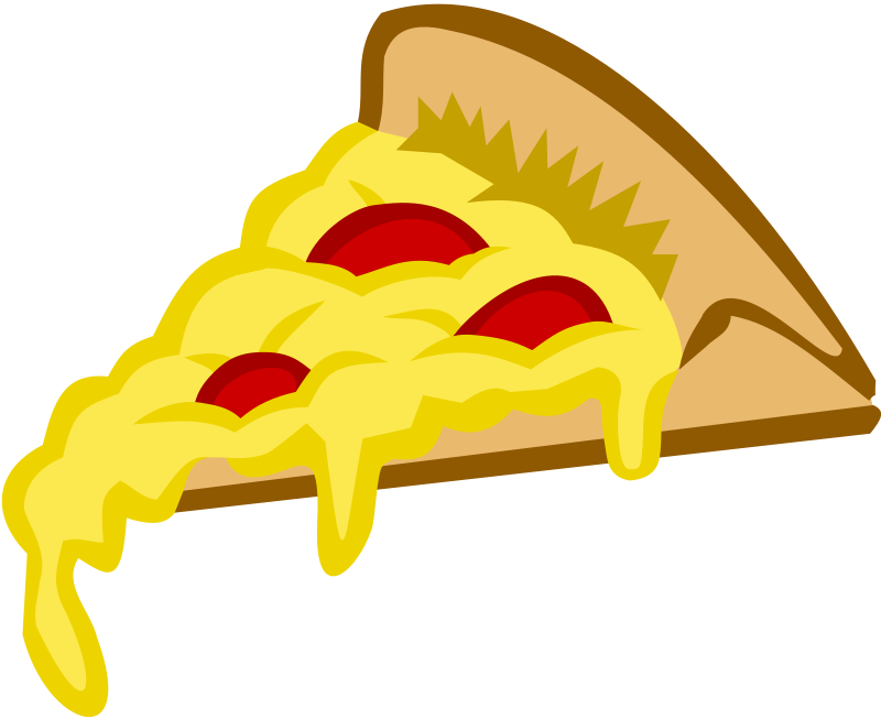 Pizza Slice Cartoon Png image #19326