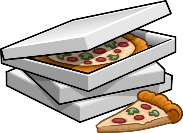 cartoon pizza png