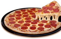 Sausage pizza transparent png