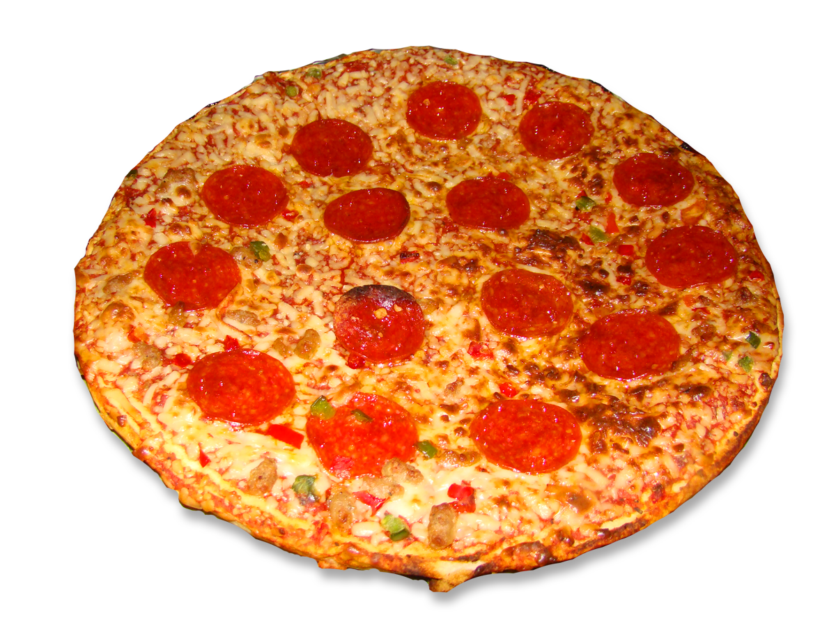 Sausage pizza png