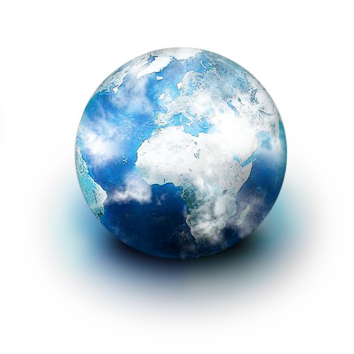 Planet, World Icon Png image #14818