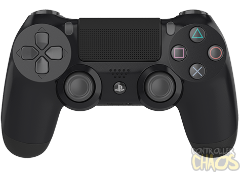 Playstation Black PS4 Modded Controller