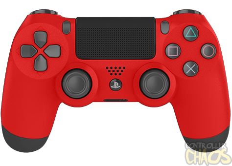 Playstation, Red PS4 Modded Controller