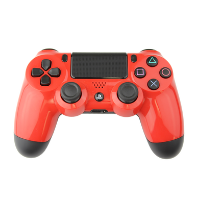 PlayStation4 controller red png