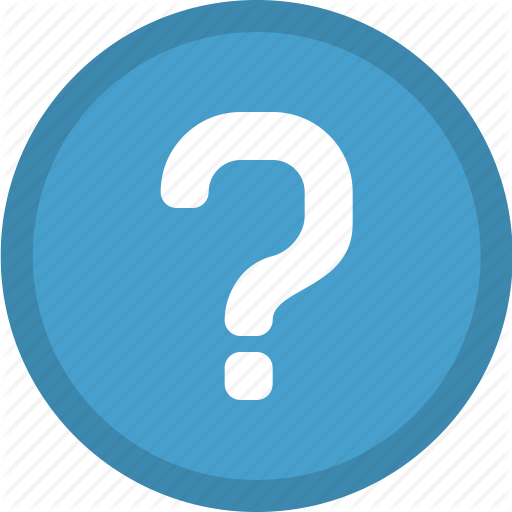 Png Button Question Mark Icon image #41650
