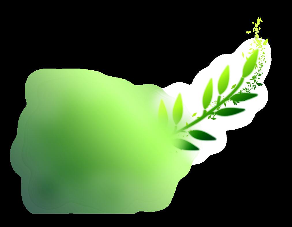 png cloud green