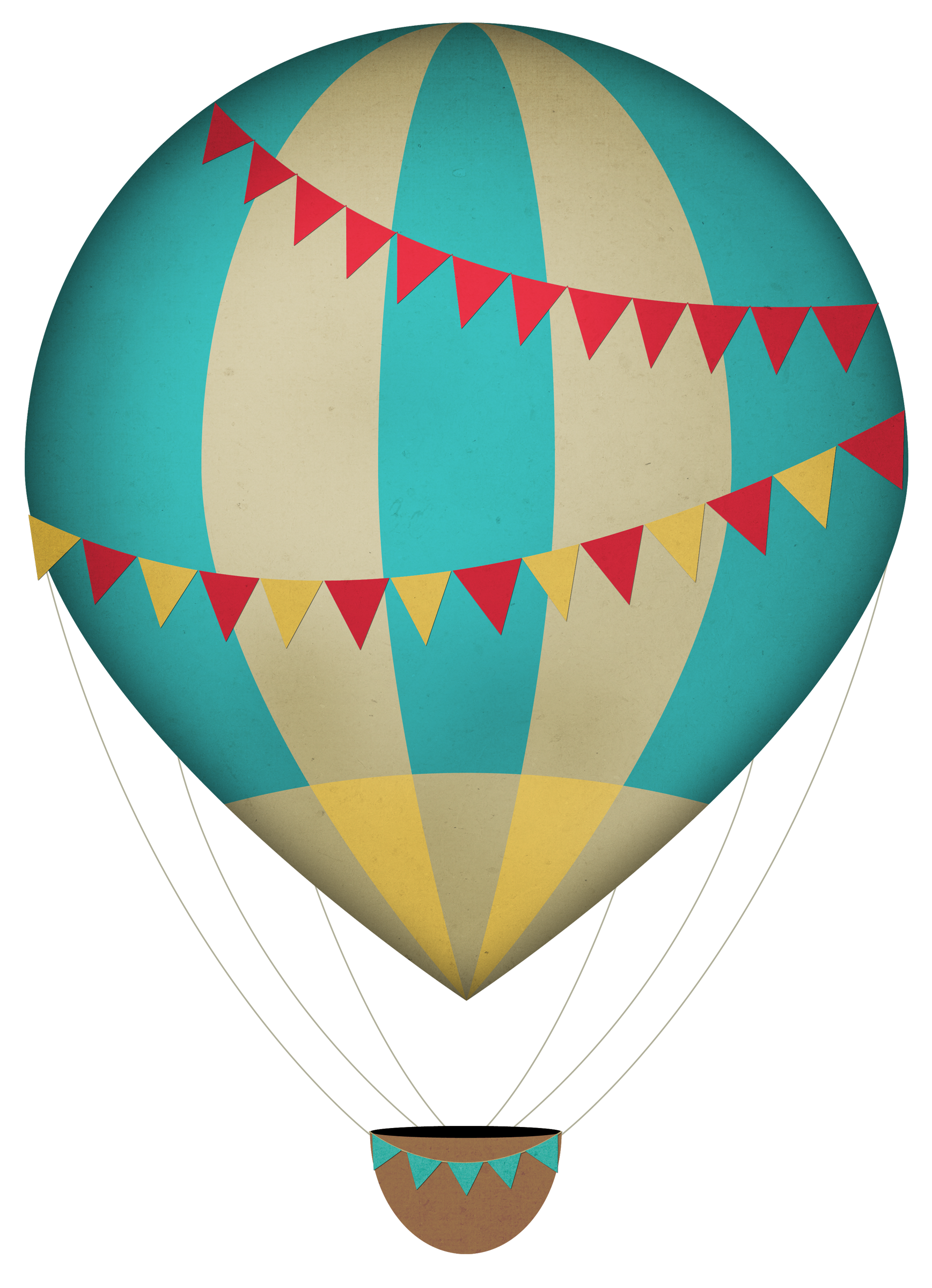 Png Format Images Of Air Balloon Drawing