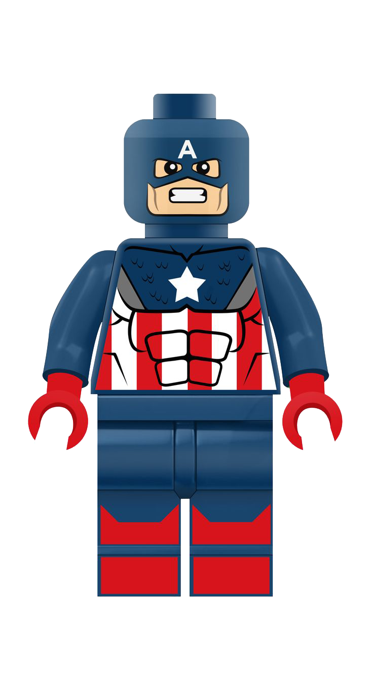 Png Format Images Of Lego Captain America image #46627