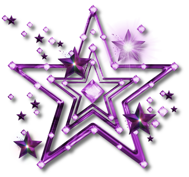 Png Jewel Star   Purple By Jssanda D5va770 image #637