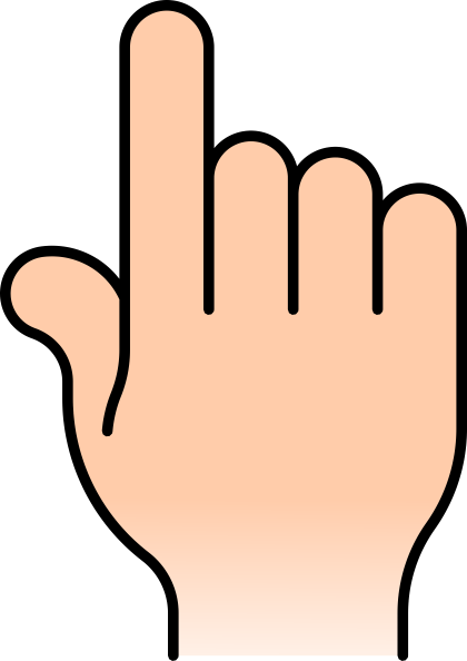 Pointing Finger Photo Png image #43084