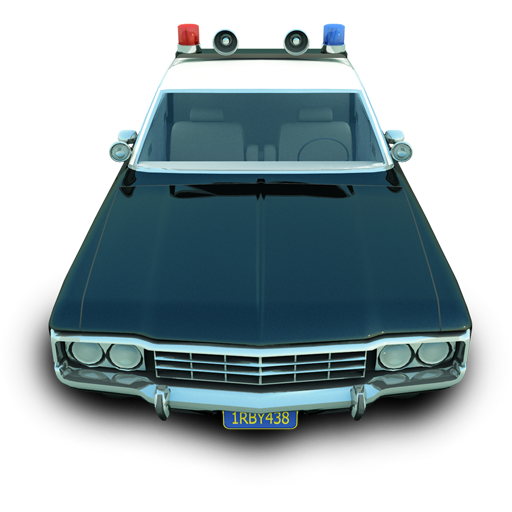Police Car Icon image #29955