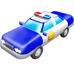 Police Car Icon image #29957