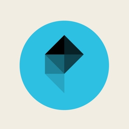 Polygon Twitter Icon.png (500×500) In Geometric Art image #10740