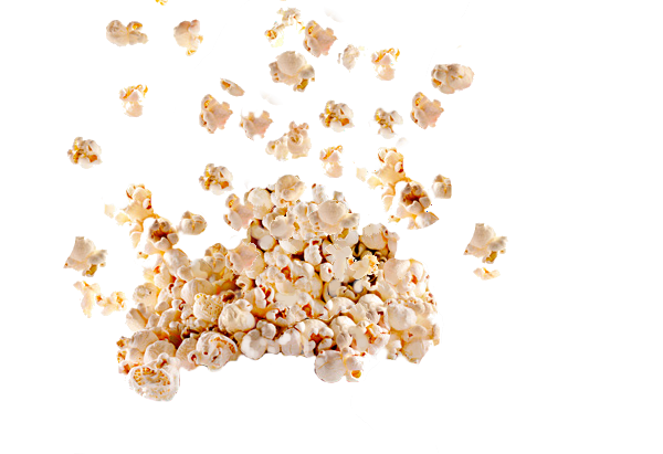 Clipart Popcorn PNG image #9454