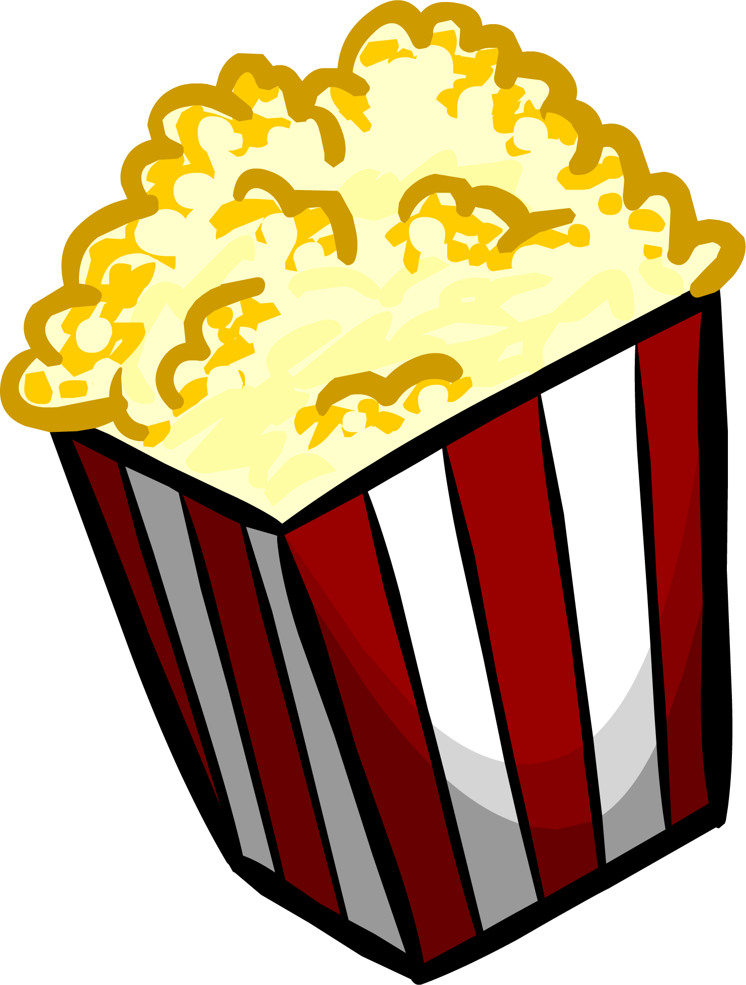 Png Vector Popcorn image #9344
