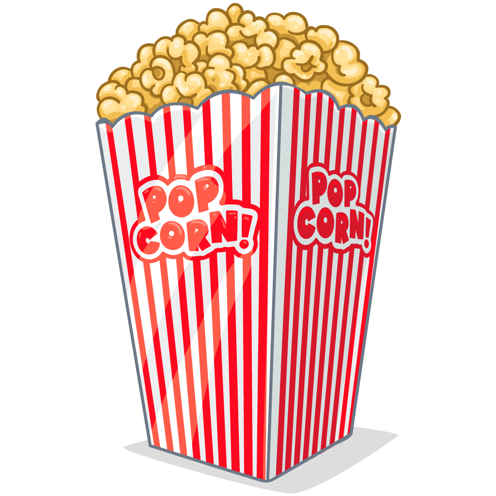 Download Free High-quality Popcorn Png Transparent Images image #9432