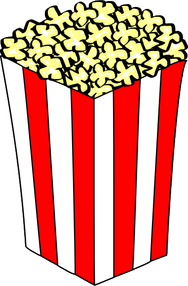 Free Popcorn Pictures Clipart image #9435