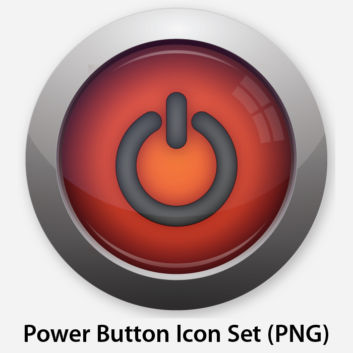 Power Button Icon Symbol image #8367
