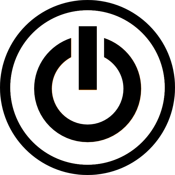 Power Button Icon Image Free 600x600, Power Button HD PNG Download
