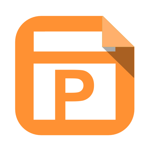Powerpoint Document Icon image #43937