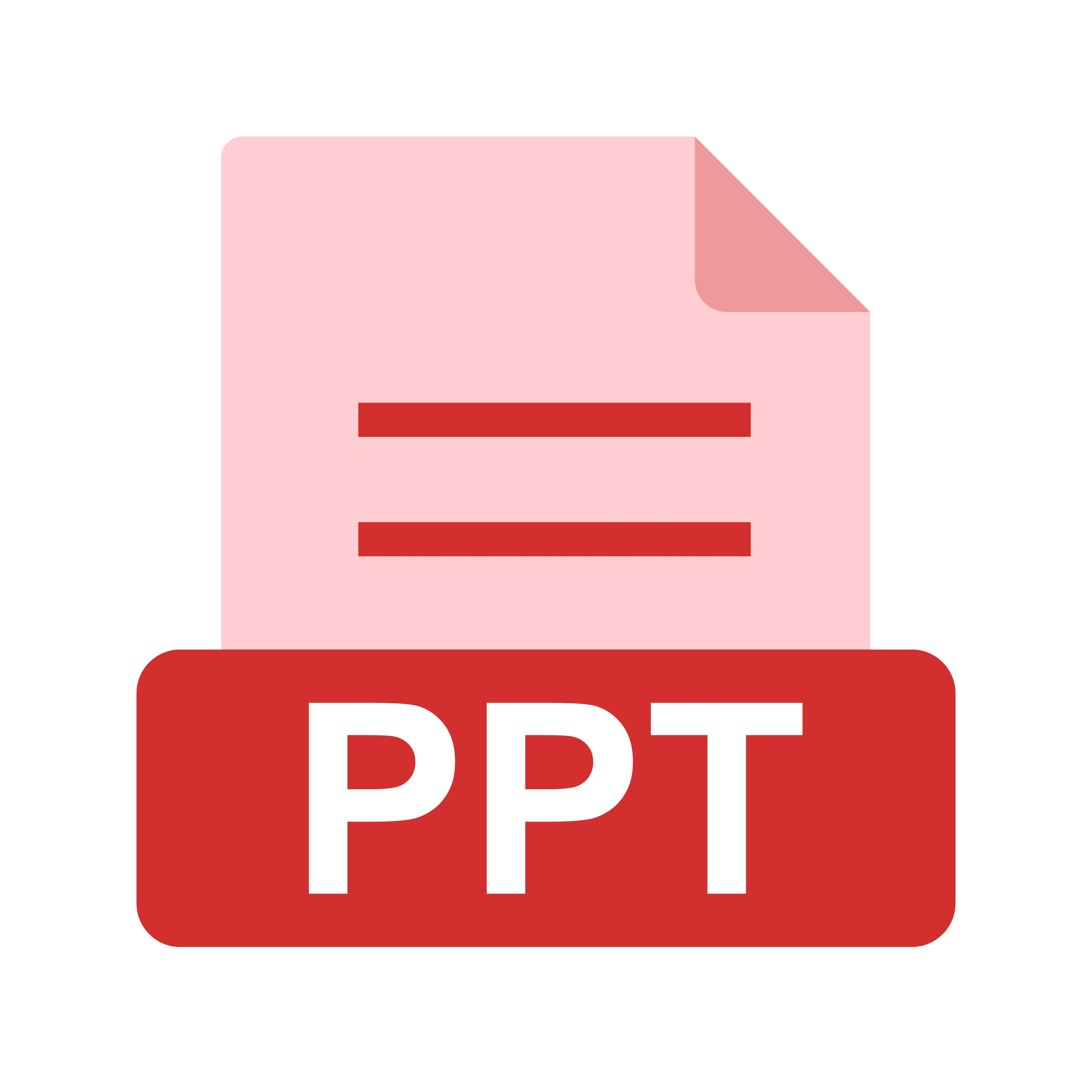 Powerpoint File Icon image #43947