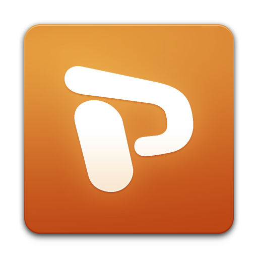 PowerPoint icon free download as PNG and ICO formats, VeryIconm