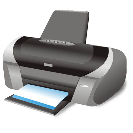Printer Icon | Large Business Iconset | Aha Soft image #1008