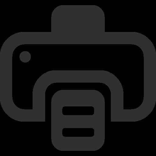 Printer Icon   Mono Business 2 Iconset   Custom Icon Design