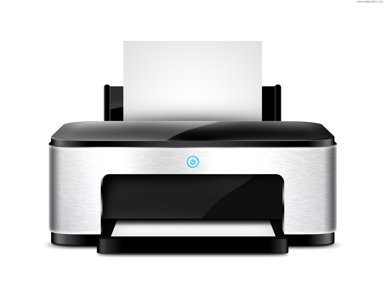 Printer Icon (PSD) | PSDGraphics image #1003