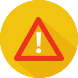 Problem Warning Icon Png 256x256, Warning HD PNG Download