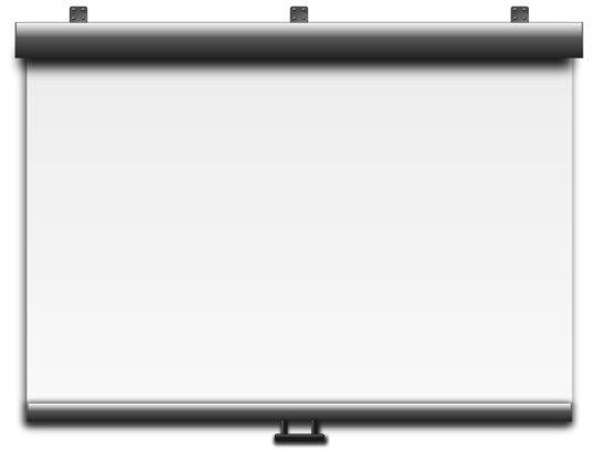 Projector Screens Png image #39890