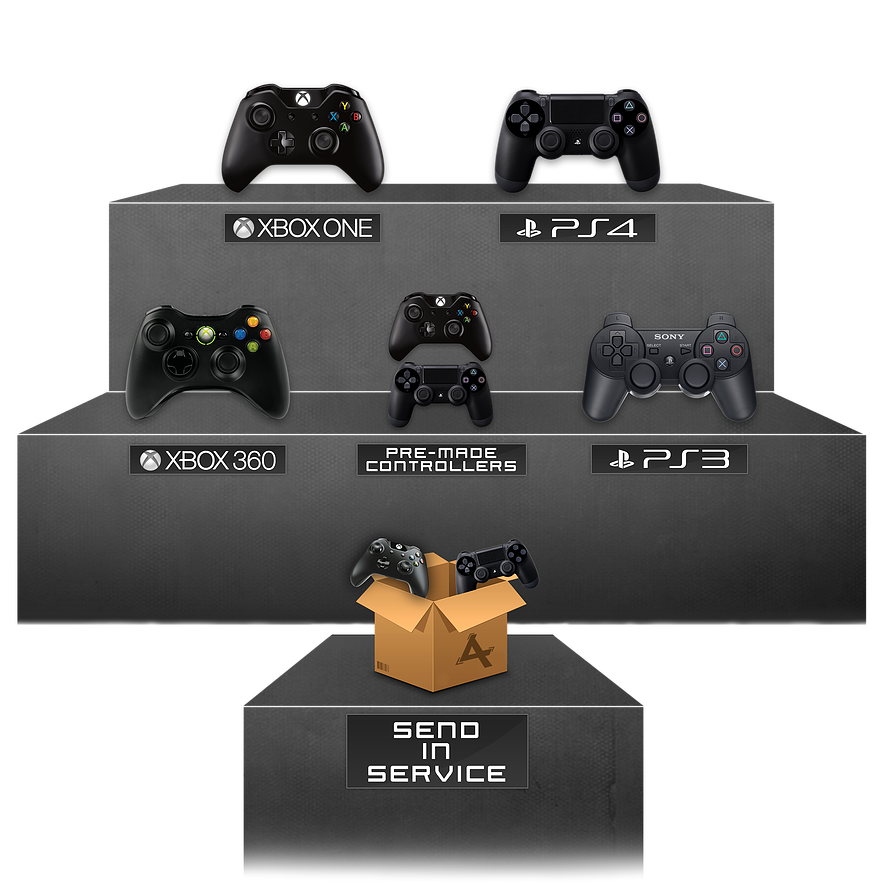 Ps4 Controller Png Controllers Xbox One Ps4