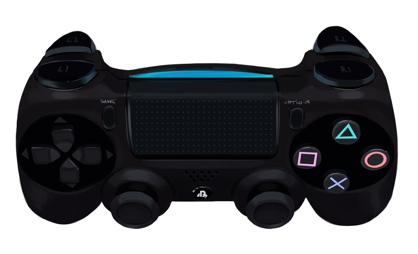 Ps4 Playstation controller png