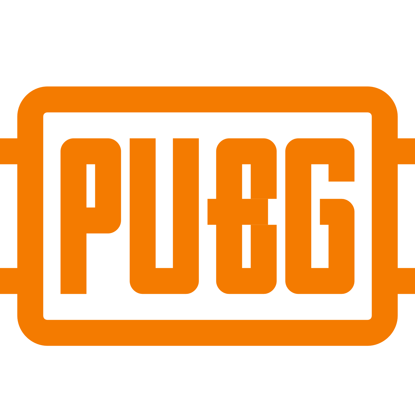 Pubg Orange PNG Logo Photo image #48215