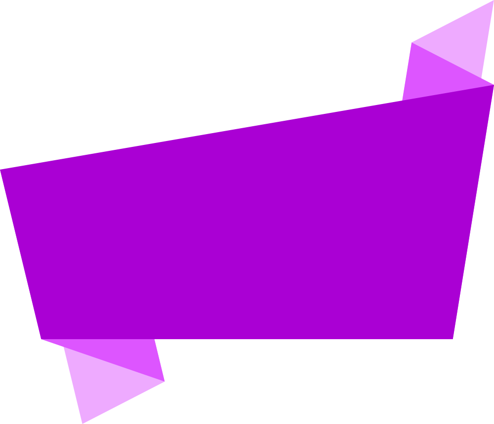 Purple Banner Png image #40200