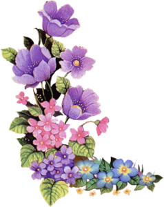 Purple Flower Png image #6232