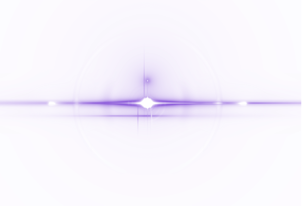 Purple Lens Flare Vector Png image #46200