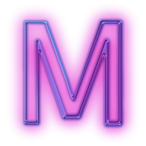 Free Icons Png Purple Letter M Icon