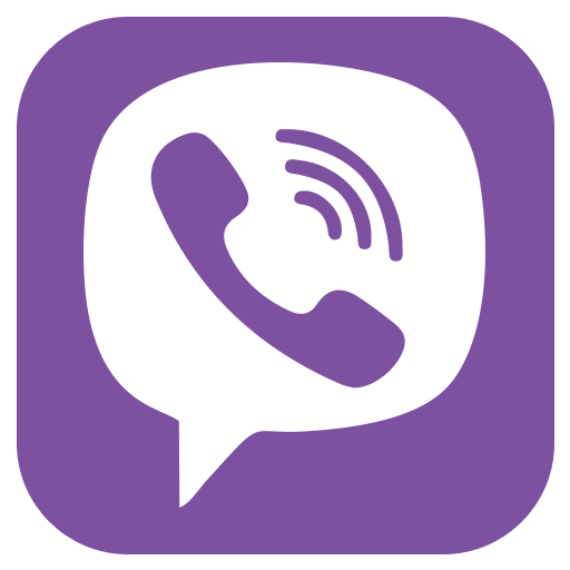 Purple Phone Logo Images Viber Message image #48162
