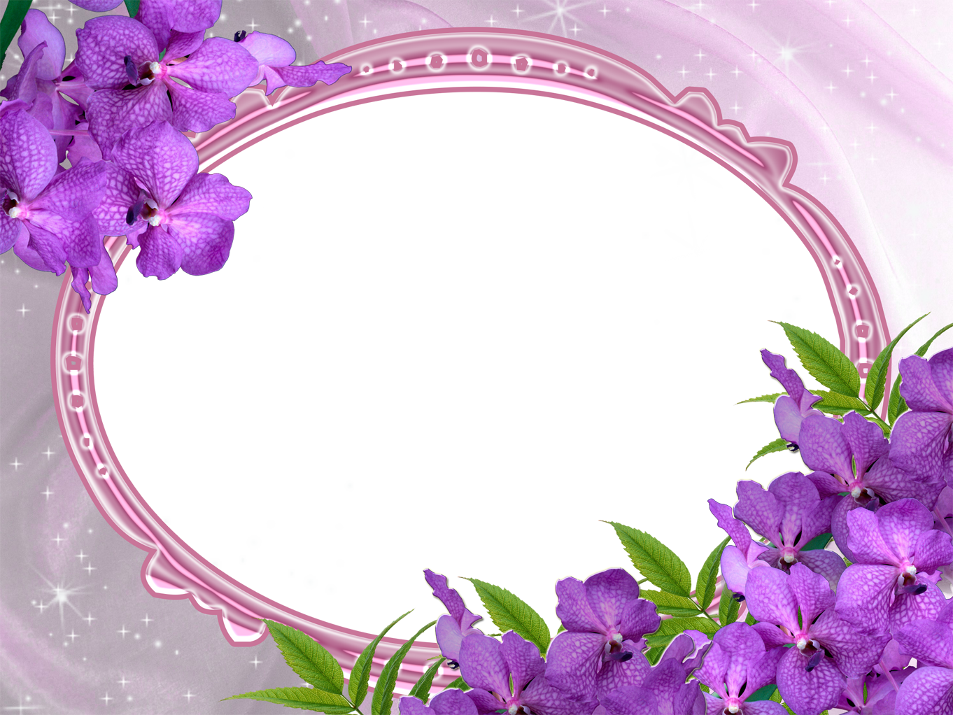 purple wedding photo frame png