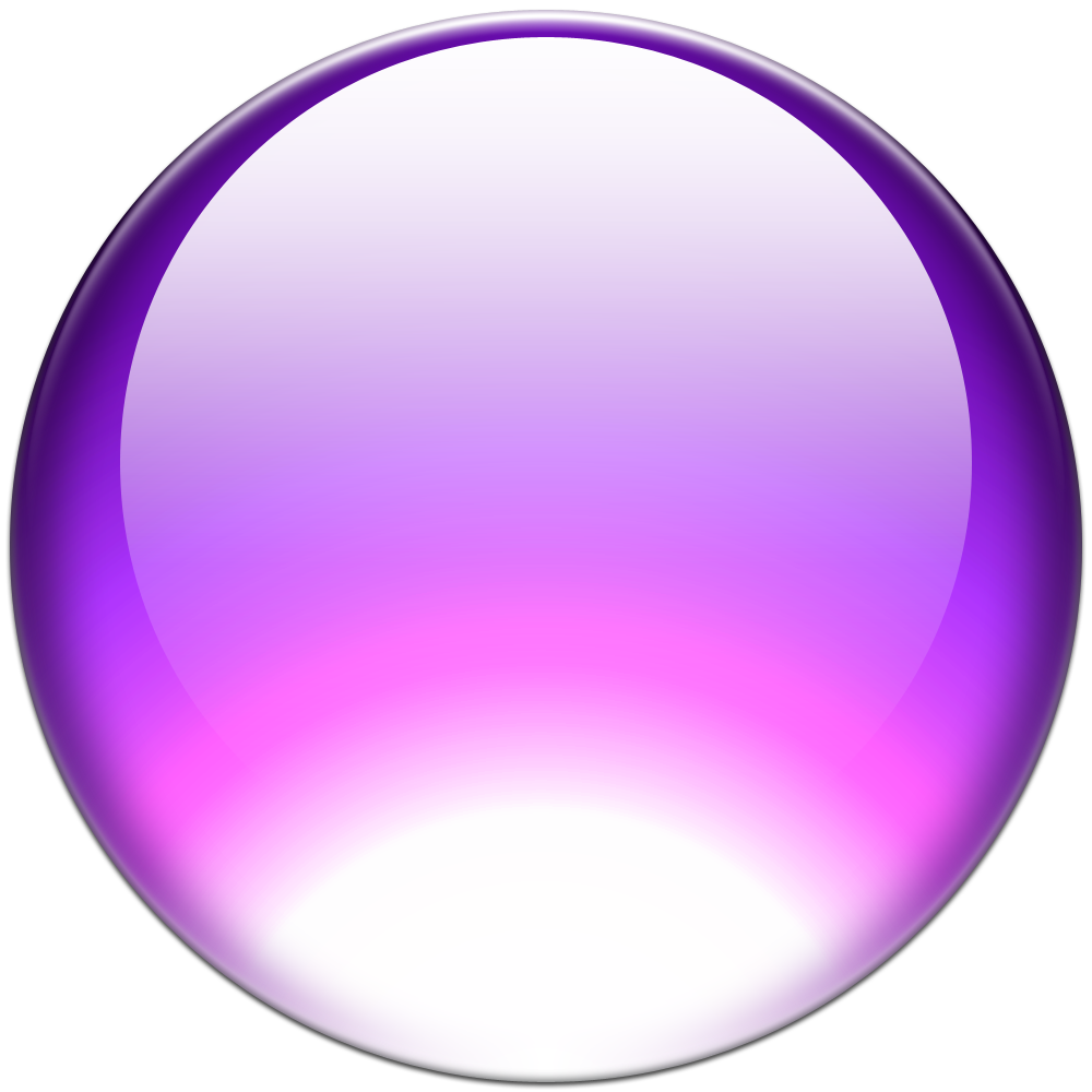 Purple White Orb Png image #25374