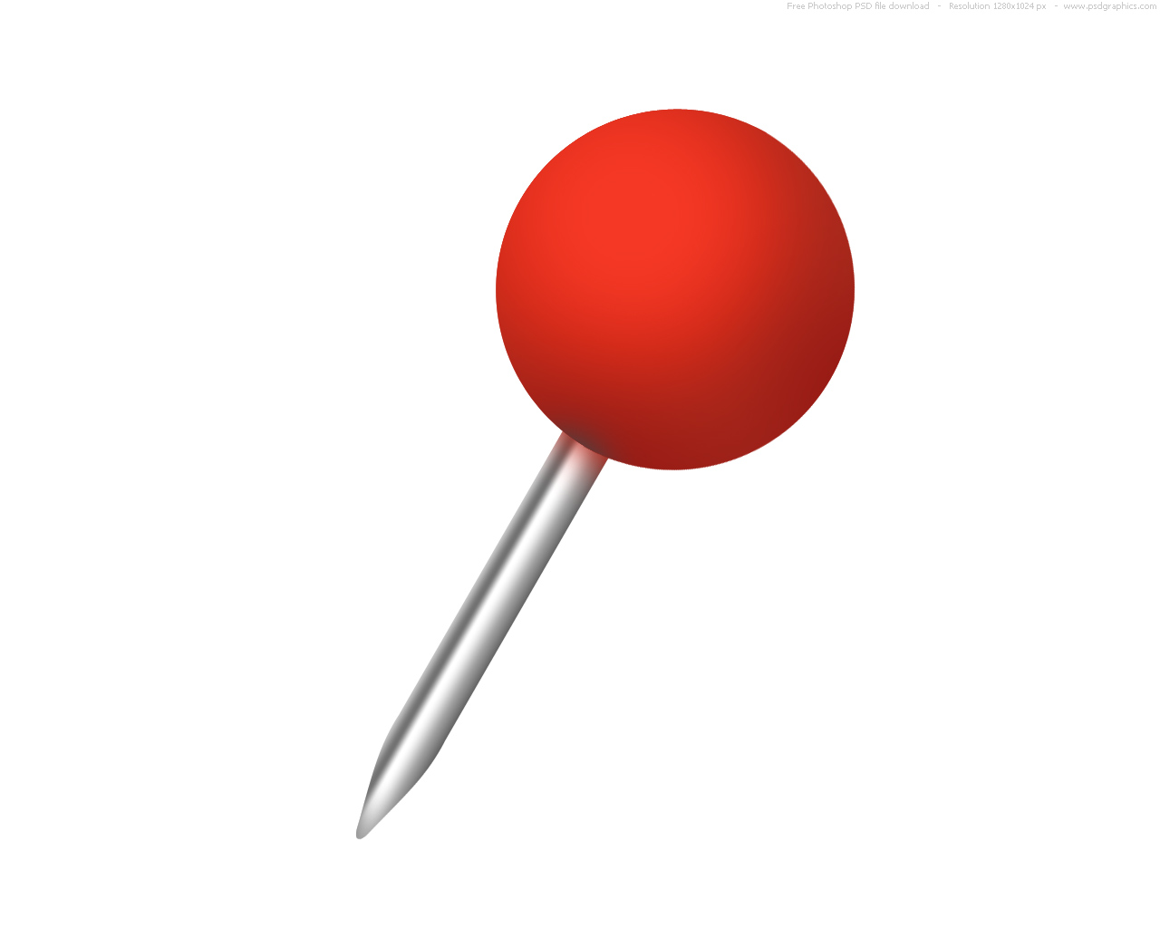 Pushpin Download Png High-quality image #27721