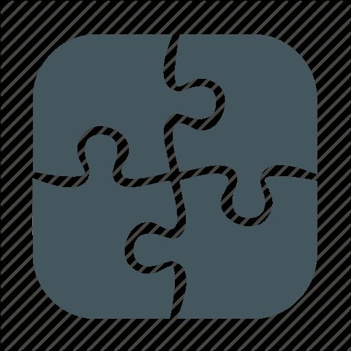 library puzzle icon  28363