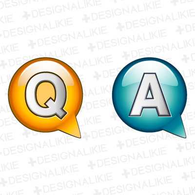 Q And A Vector Png image #21630