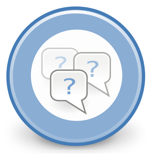 Transparent Png Question Answer image #21653