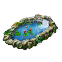Questitem Burma Lotus Pond Icon Png image #10909