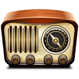 radio vintage icon png