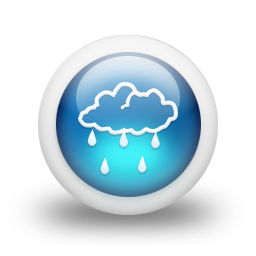 Free High quality Cloud Rain Icon