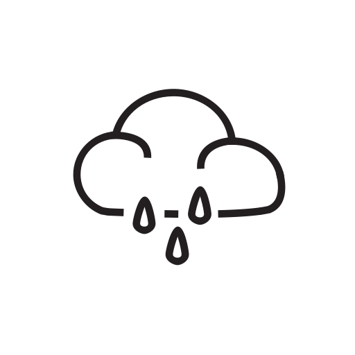 Transparent Cloud Rain Png